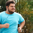 Bariatric surgery patient goes for a run after weight loss procedure.